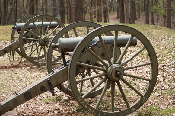 The cannons