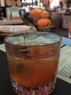 Old Fashioned was pretty on point