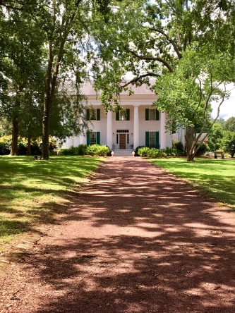 Barrington Hall. Mr. Barrington founded the city of Roswell, GA