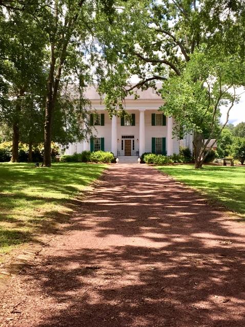 Barrington Hall. Mr. Barrington founded the city of Roswell, GA
