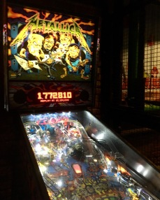 Pinball! I used to be good. Used to be...