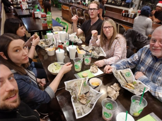 A wahlburger's welcome!
