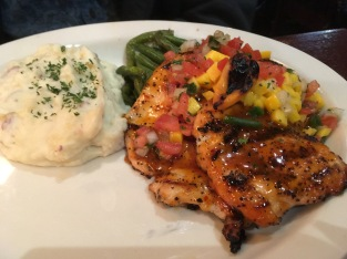 Mango Habanero Chicken was a hit for Hubby